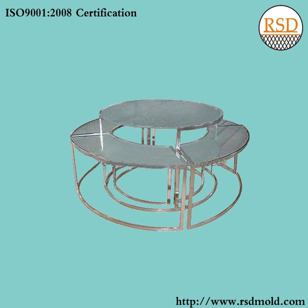 不锈钢组合圆桌
